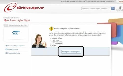 ssk emekli maaşı öğrenme e-sorgulama.com