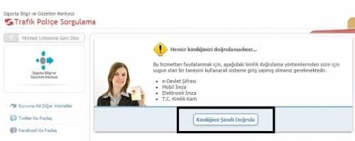trafik sigortası sorgulama işlemi e-sorgulama.com