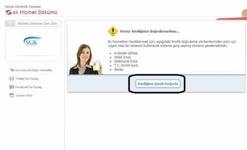 ssk hizmet dökümü almak e-sorgulama.com