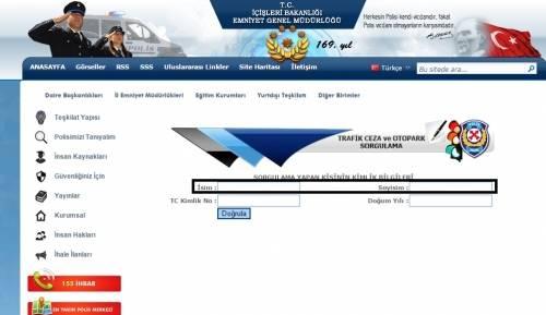 radar ceza sorgulama e-sorgulama.com