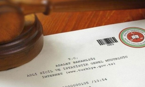 adli sicil kaydı sorgulama